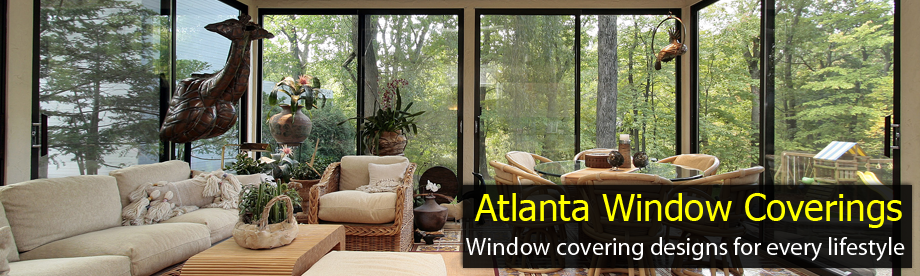 Sunroom with window tinting in Atlanta, GA.
